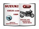 Thumbnail Suzuki GSX-R1100 1996 Service Repair Manual Download