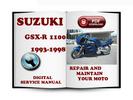 Thumbnail Suzuki GSX-R1100 1993-1998 Service Repair Manual Download