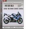 Thumbnail Suzuki GSX-R1000 2003 Service Repair Manual Download