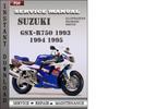 Thumbnail Suzuki GSX-R750 1993 Service Repair Manual Download