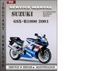 Thumbnail Suzuki GSX-R1000 2001 Service Repair Manual Download