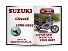 Thumbnail Suzuki GS500E 1989-1999 Service Repair Manual Download