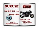 Thumbnail Suzuki Bandit GSF1200 1996-1999 Service Repair Manual Download