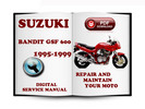 Thumbnail Suzuki Bandit GSF600 1995-1999 Service Repair Manual Download
