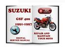Thumbnail Suzuki Bandit GSF400 1991-1997 Service Repair Manual Download