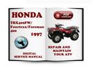 Thumbnail Honda TRX400FW Fourtrax Foreman 400 1997 Service Repair Manual Download