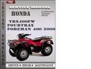 Thumbnail Honda TRX400FW Fourtrax Foreman 400 2000 Service Repair Manual Download