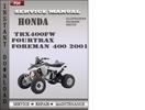 Thumbnail Honda TRX400FW Fourtrax Foreman 400 2001 Service Repair Manual Download