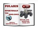 Thumbnail Polaris Sportsman 700 2002-2003 Service Repair Manual Download