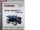 Thumbnail Yamaha YFM Grizzly 700 FI Service Repair Manual Download