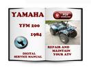 Thumbnail Yamaha YFM 200 1984 Service Repair Manual Download