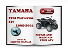 Thumbnail Yamaha YFM Wolverine 350 1995-2004 Service Repair Manual Dow