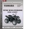 Thumbnail Yamaha YFM Wolverine 350 1997 Service Repair Manual Download