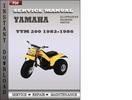 Thumbnail Yamaha YTM 200 1986 Service Repair Manual Download