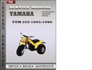 Thumbnail Yamaha YTM 225 1983 Service Repair Manual Download
