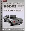 Thumbnail Dodge Dakota 2001 Service Repair Manual Download