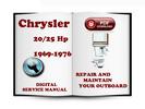 Thumbnail Chrysler Outboard 20 25 Hp 1969-1976 Service Repair Manual Download