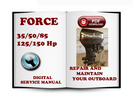 Thumbnail Force Outboard 35 50 85 & 125 150 Hp Service Repair Manual Download