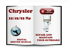 Thumbnail Chrysler Outboard 35 45 55 Hp Service Repair Manual Download