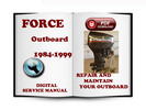 Thumbnail Force Outboard 1984-1999 Service Repair Manual Download