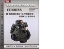 Thumbnail 1991-1994 Cummins B Series Engine Workshop Service Repair Manual Download