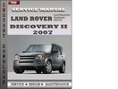 Thumbnail Land Rover Discovery 2 2007 Service Repair Manual