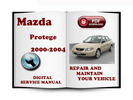 Mazda Protege 2000-2004 Service Repair Manual