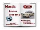 Thumbnail Mazda Protege 2000-2004 Service Repair Manual