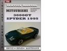 Thumbnail Mitsubishi 3000GT Spyder 1995 Service Repair Manual