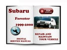 Thumbnail Subaru Forester 1999-2000 Service Repair Manual