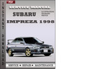 Thumbnail Subaru Impreza 1998 Service Repair Manual