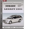 Thumbnail Subaru Legacy 2001 Service Repair Manual