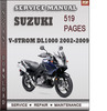 Thumbnail Suzuki V-Strom DL1000 2002-2009 Factory Service Repair Manual Download