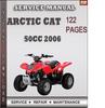 Thumbnail Arctic Cat 50cc 2006 Factory Service Repair Manual Download