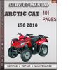 Thumbnail Arctic Cat 150 2010 Factory Service Repair Manual Download