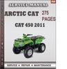 Thumbnail Arctic Cat 450 2011 Factory Service Repair Manual Download