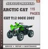 Thumbnail Arctic Cat Y12 90cc 2007 Factory Service Repair Manual Download