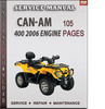 Thumbnail Can-Am 400 2006 Engine Service Repair Manual Download