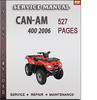 Thumbnail Can-Am 400 2006 Factory Service Repair Manual Download