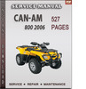 Thumbnail Can-Am 800 2006 Factory Service Repair Manual Download