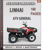 Linhai ATV General Factory service Repair Manual Download