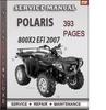 Thumbnail Polaris 800x2 EFI 2007 Factory Service Repair Manual Downloa