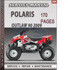 Polaris Outlaw 90 2009 Factory Service Repair Manual Download