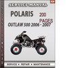 Thumbnail Polaris Outlaw 500 2006 - 2007 Factory Service Repair Manual Download
