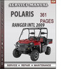 Thumbnail Polaris Ranger INTL 2009 Factory Service Repair Manual Download