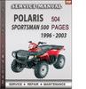 Thumbnail Polaris Sportsman 500 1996 - 2003 Factory Service Repair Manual Download