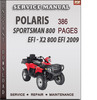 Thumbnail Polaris Sportsman 800 EFI - X2 800 EFI 2009 Factory Service Repair Manual Download