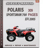 Thumbnail Polaris Sportsman 700 EFI 2005 Factory Service Repair Manual Download