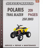 Thumbnail Polaris Trail Blazer 250 2003 Factory Service Repair Manual Download