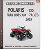 Thumbnail Polaris Trail Boss 330 2003 Factory Service Repair Manual Download